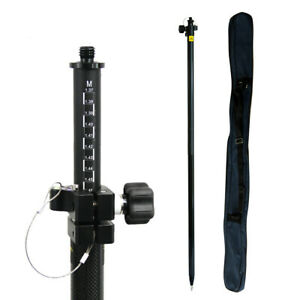 Carbon Fibre Pole 2.5M for GNSS, GPS RTK Surveying, Total Station Prism, Survey