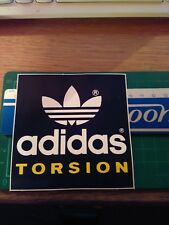 ADESIVO VINTAGE STICKER kleber adidas torsion