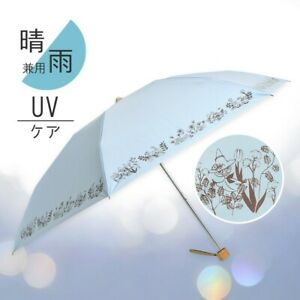 MSP Umbrella both sunny and rainy weather Botanical Blue Moomin shop LTD New JP