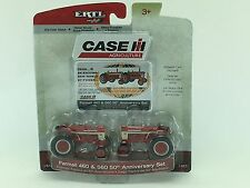 1/64 ERT CASE IH FARMALL 460 & 560 50TH ANNIVERSARY SET