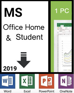 Microsoft Office Home and Student 2019 1PC/Windows License 79G-05029