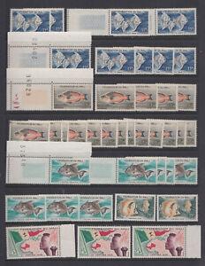 Lot timbres Afrique neufs **
