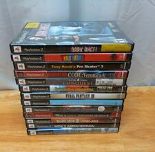 Lot of 13 Replacement Empty Game Cases PS2 NO GAMES