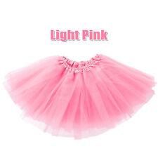 Girl Adults Kids Tutu Skirt 80s Fancy Dress Hen Party Costume Ballet Dancewear