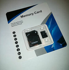 64GB Micro SD SDXC Memory Card TF Flash microSD Class 10 FREE SD Adapter Retail