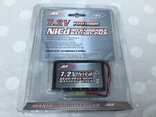 7.2V 700mah Nicd Rechargeable Battery Pack for Powered R/C Vehicle NEW