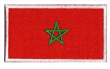 Ecusson badge patche drapeau patch MAROC marocain 85 x 55 mm