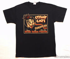 STRAY CATS Vintage T Shirt TOUR Concert 2008 European Farewell ROCKABILLY BAND