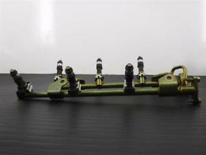 04-07 Nissan Murano 3.5L Set of 6 Fuel Injectors With Rail Assm OEM 16600-CD700