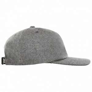 The North Face Cap Wool Ball TNF Grey Heather Snapback Mod Indie