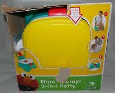 Sesame Street Elmo Hooray 3 In 1 Potty Chair Toilet Trainer Potties by Kolcraft