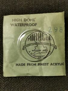 Miracle High Dome Acrylic Watch Glass 298