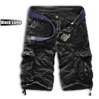 Mens Casual Military Combat Camo Cargo Shorts Summer Pants Work Trousers Army