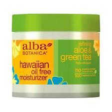 Alba Botanica Hawaiian Oil Free Moisturizer with Aloe and Green Tea 3 oz