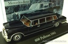 1/43 MERCEDES 600 PULLMAN 1963 DIECAST IXO ALTAYA LIMOUSINE