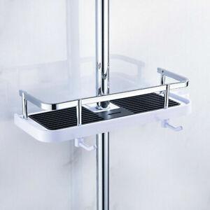 Bathroom Shelf Shower Pole Caddy Rack Storage Organiser Tray Holder Accessories