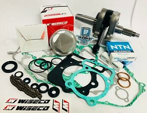 97-01 CR250R CR 250R Rebuild Kit Rebuilt Motor Engine Bottom End Crank Piston