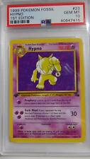 Hypno 23/62 Fossil 1st Edition PSA 10 Gem Mint Rare Pokemon Card