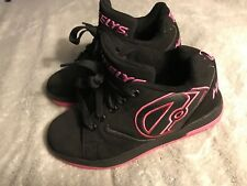 Heelys Girls Propel 2.0 Black Pink 770291 Skate Shoe Youth Size 3 SC8