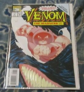 """Venom The Madness #1 Part 1 of 3 """"Toxic Kisses"""" First Issue Marvel (1993) NM"""