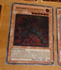 TCG Yu-Gi-Oh ULTIMATE RARE CARD CARTE COMMANDO DE LA CLOCHE FEU ANPR FR086  FR *