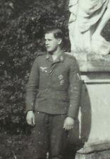 WK 2 Luftwaffe1941 Frankreich  EK 1 + Ehrenzeichen 8,5x6 cm Original aus Album