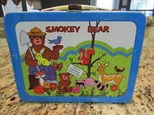 VINTAGE NICE VERY RARE 1973 SMOKEY THE BEAR METAL LUNCHBOX