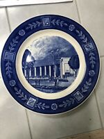 1939 New York World's Fair Shelter Building A&S Plate Spode England Copeland 1st