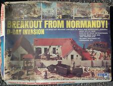 MPC Breakout from Normandy Plastic Model Kit 1/72 Scale Open Box Free USA Ship