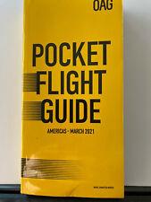 OAG POCKET FLIGHT GUIDE AMERICAS MARCH 2021 NEW