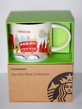 Starbucks London AUTHENTIC w/ RECEIPT You Are Here Coffee Mug Cup YAH Collection
