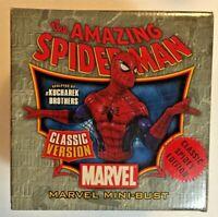 Amazing Spider-Man Classic Version Mini-Bust by Bowen 2007 Marvel 3689/3750 MIB