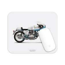 Ducati 750 Sport Motorcycle illustration Mouse Pad