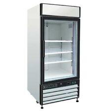 Maxx Cold MXM1-16F Reach In Freezer Single Glass Door Merchandiser