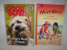 Good Boy!: Dogs Best Friend  MGM movie  / Heat Wave Mcgraw Hill set of 2