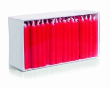 100er Pack Geburtstagskerzen Puppenlichte 65x7mm Farbe Rot Wiedemann Kerzen