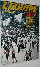 EQUIPE MAGAZINE N°56 1981 VASALOPPET BOXE FOOTBALL PONTE GEOFFROY-GUICHARD