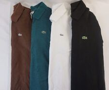Lacoste Lot of 4 Men's Short/Long Sleeve Polo Shirts Medium M EUR 4 BA18090