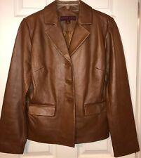 Margaret Godfrey Women's Genuine Leather Jacket Size M