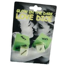 GLOW IN DARK LOVE DICE GAME