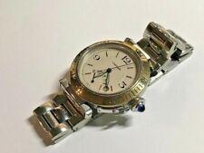 Cartier Pasha Reserve de Marche ,Stahl Gold , Automatik,   TOP ZUSTAND !!