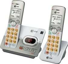 AT&T ATT DECT 6.0 2 Handset Cordless Home Phone Digital Answering System EL52253