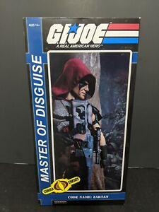 GI Joe Sideshow Collectibles 12 Inch Deluxe Action Figure Zartan Exclusive
