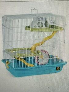 Prevue Medium Hamster Haven- Blue New In Box