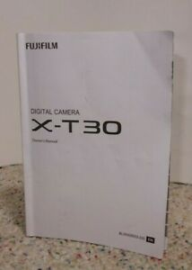 Fujifilm X-T30 Digital Camera Instructions, Made in Japan OEM