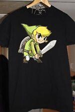 Nintendo LINK T-shirt Size M EUC The Legend Of Zelda Spirit Tracks Soft Cotton