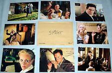 SPiDER David Cronenberg Ralph Fiennes  Miranda Richardson 8 FRENCH LOBBY CARDs
