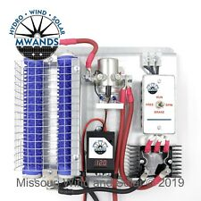 Diversion Charge Controller with Brake Switch & Dump Load for Wind & Solar