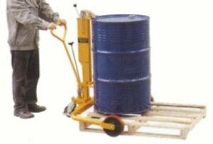 W&J HYDRAULIC DRUM TRANSPORT TRUCK cap.250kg - NEW VAT Incl.