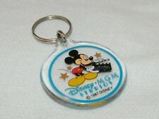 Vintage 1987 Disney MGM Studios Mickey Mouse Acrylic Key Chain . Collectible
